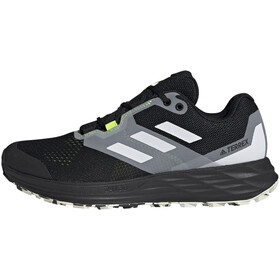 adidas TERREX Speed Flow Trail Running Shoes Men, core black/crystal white/solar yellow